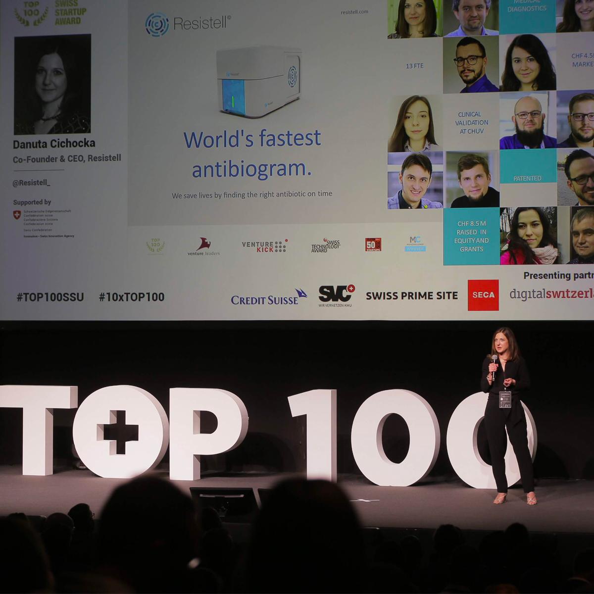 Resistell among TOP 10 best start-ups in Switzerland