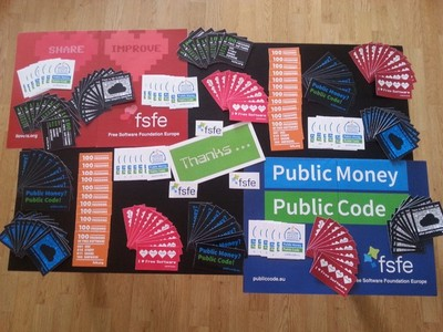 FSFE swag you can get