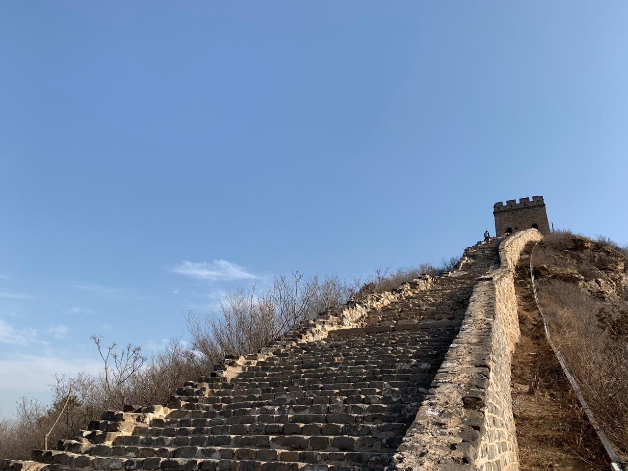 Het steilste stuk van Simatai waar wij op konden