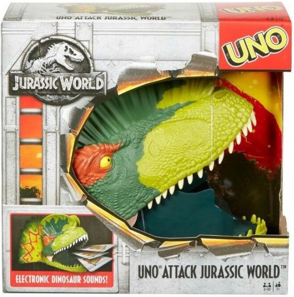 Uno Attack: Jurassic World