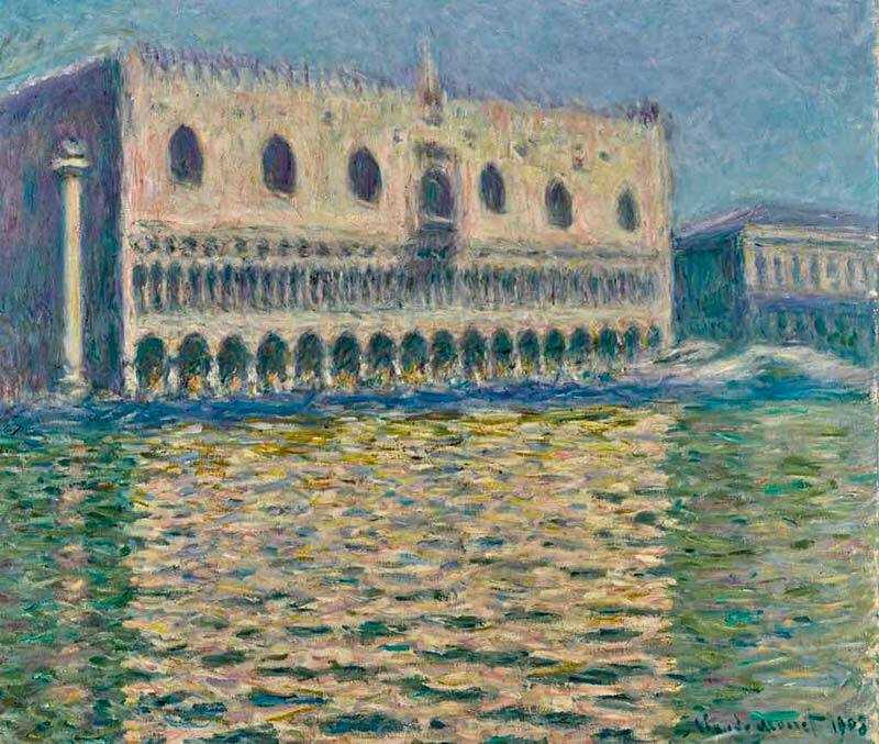 Monet's Le Palais Ducal sold at Sotheby's London on 26 February 2019 for £24 million
