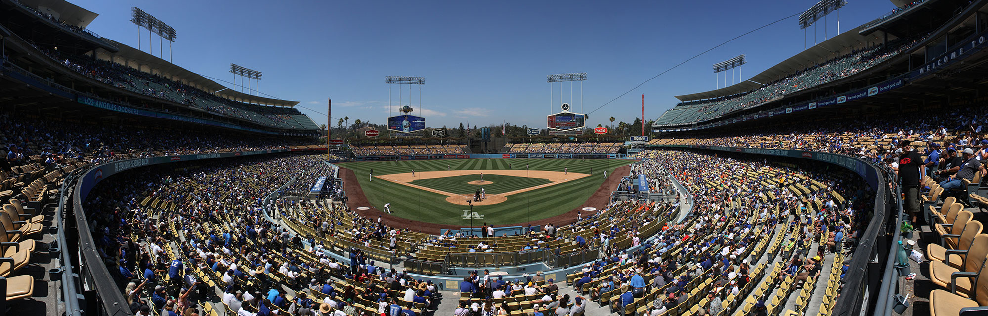 Dodgers Stadium. Photo: Tom Denne
