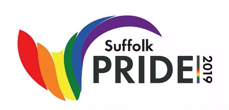 Suffolk Pride 2019 logo