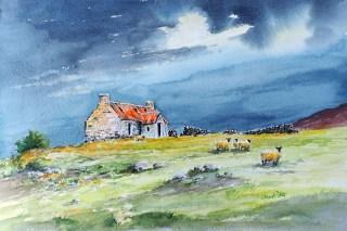 Stormy Skies Lochindorb