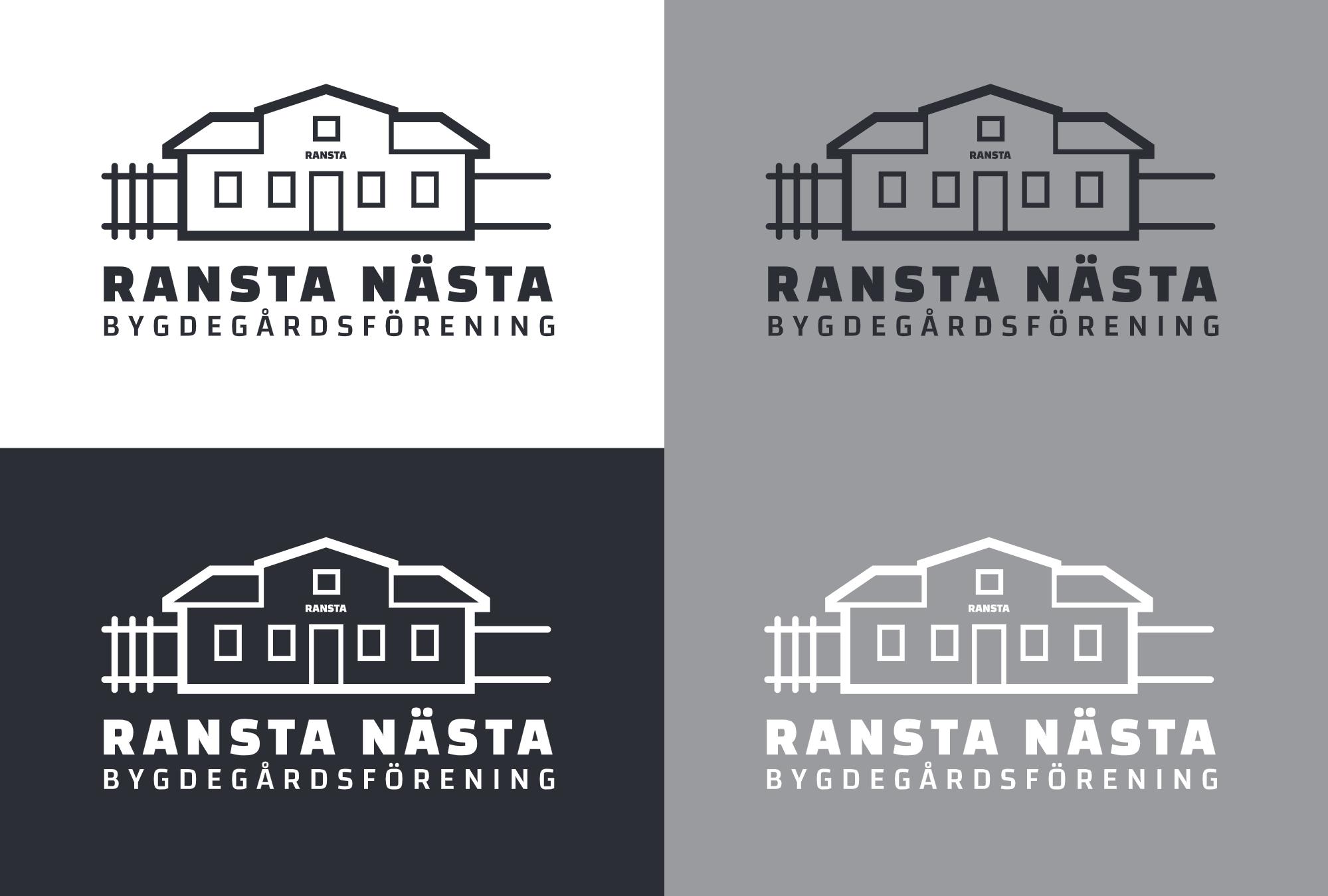 Ransta Nästa Bygdeförening - ny logotyp