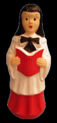 Girl Choir Singer photo