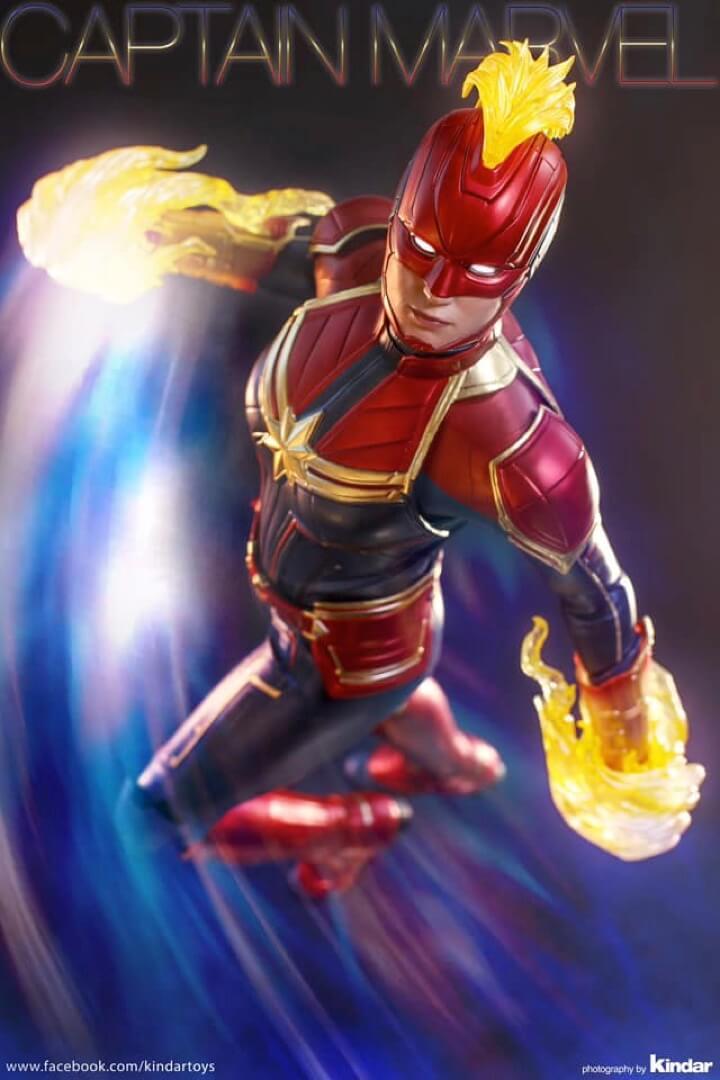 Hot Toys Captain Marvel