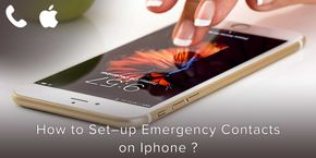 How to Set-up Emergency Contacts on iPhone?