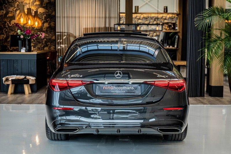 Mercedes-Benz S-Klasse 400d 4Matic Lang AMG | 3D Display | Augmented Head-Up Display | Burmester 3D | Pano | Memory afbeelding 6