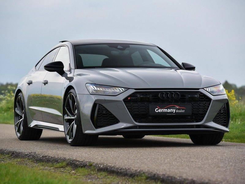 Audi RS7 Sportback 4.0TFSI 600pk Quattro Black Optic Laser-Led Softclose Head-Up Leder-dash RS-Zetels 22-Inch 360Camera afbeelding 14