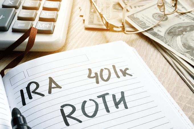 A 401k Roth IRA