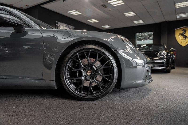 Porsche 911 992 4S PTS Schieffer Grau Slate Grey Sport Design Pakket 930 Leder vol Carbon 3.0 Carrera 4 S afbeelding 7