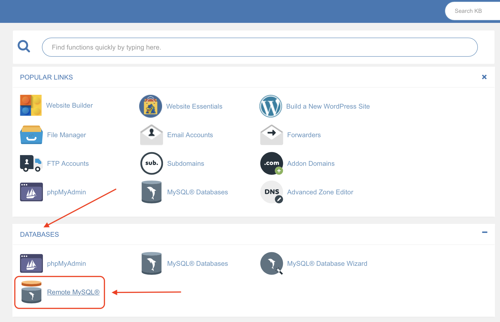 Allow Remote MySQL Connections in cPanel