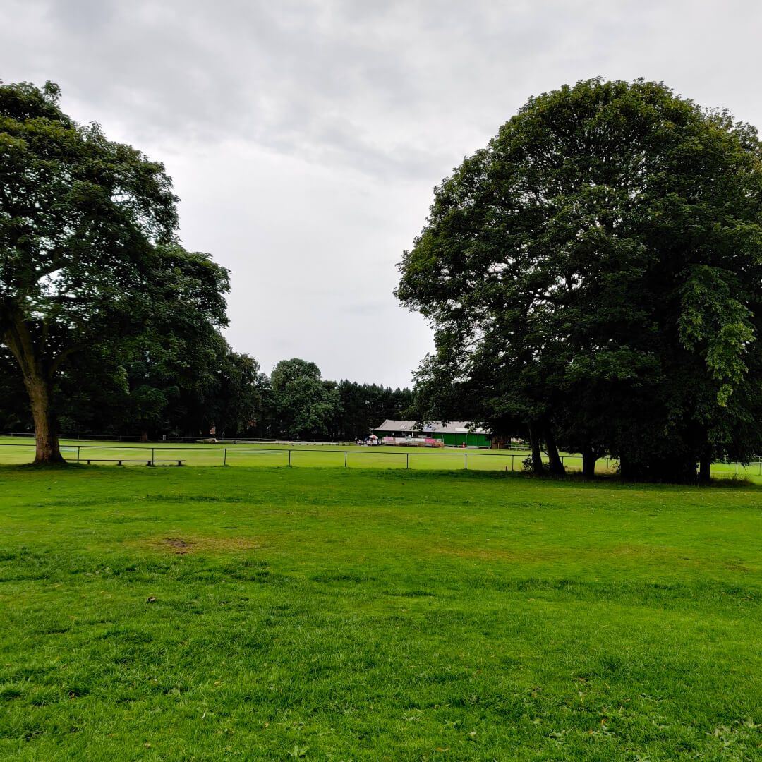 Horsforth Hall Park field and path