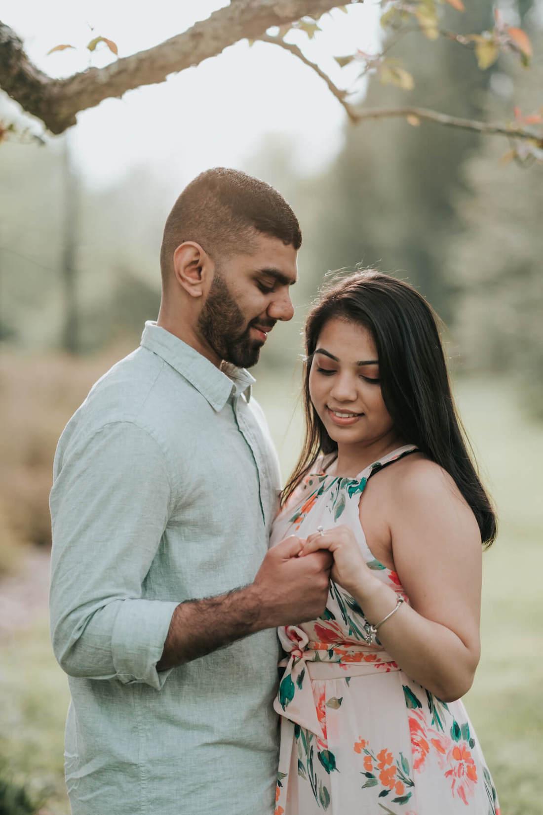 Megha & Bhavin's Engagement Session