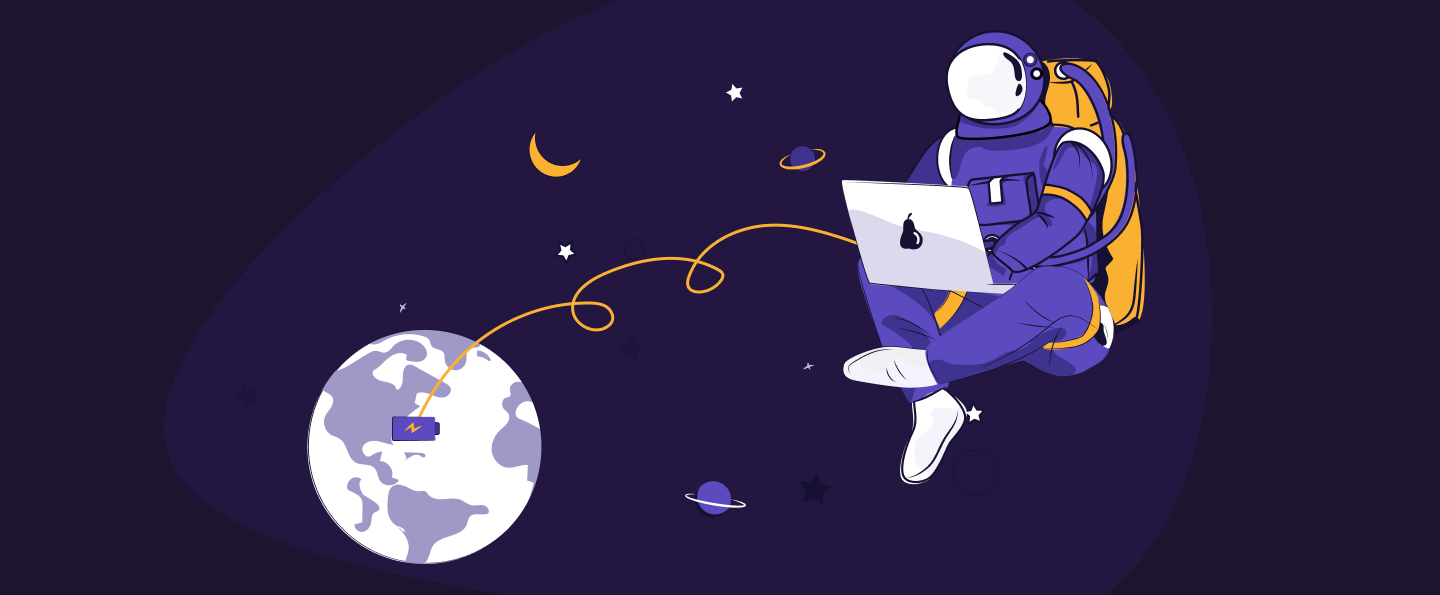 illustration of a blog post: Make Working Remote Work For You: A Galactic Fed Discussion