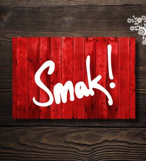 Inside of Smak! Deli in Leeds on Christmas