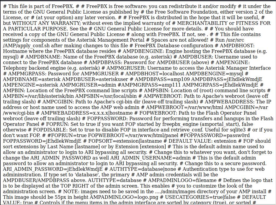 amportal.conf file contents