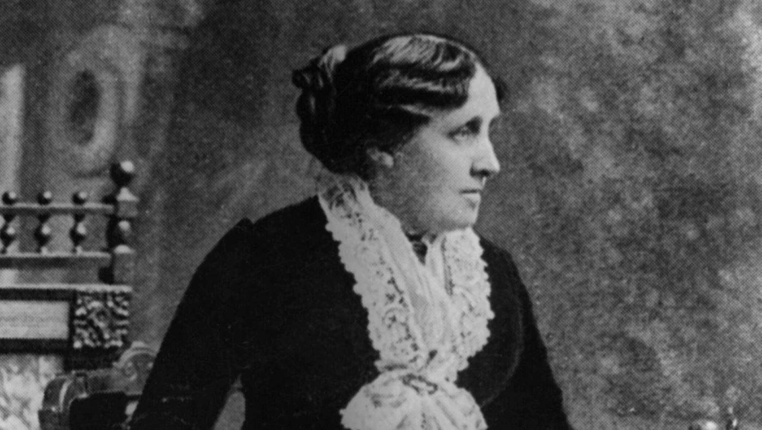Луиза Мэй Олкотт. Источник: Wikimedia Commons