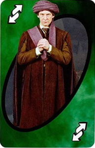 Harry Potter (2018) Green Uno Reverse Card