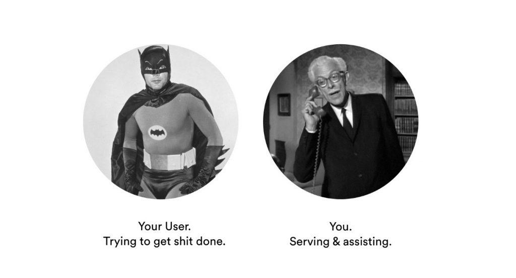 Alfred to Batman