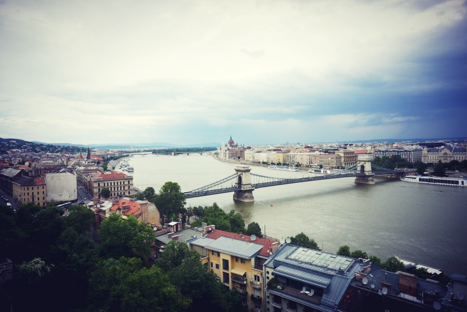 Danube, from Castle Hill