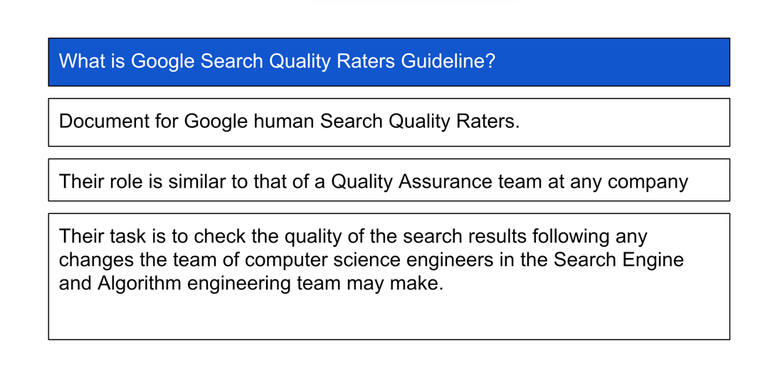 search quality raters