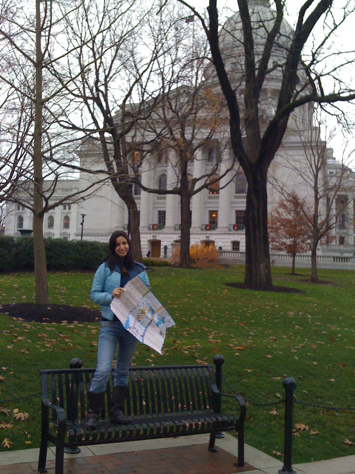 mariam at the capitol