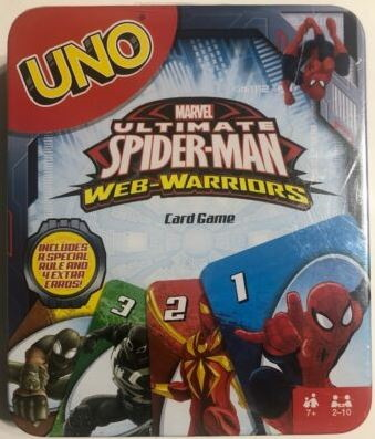 Marvel Ultimate Spider-Man Web-Warriors Uno