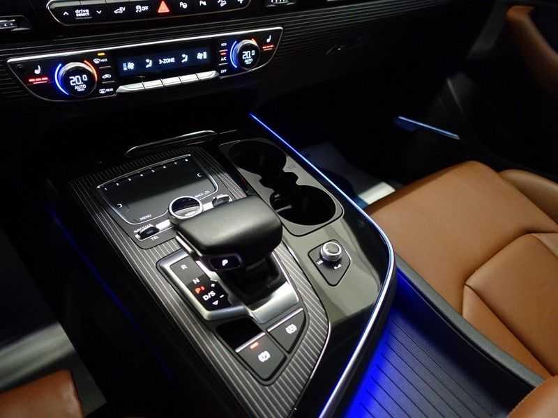 Audi Q7 3.0 TDI e-tron 374pk Quattro S-Line Autom- Bose, Virtual Cockpit, 360 Camera, Park Assist, Leer afbeelding 19