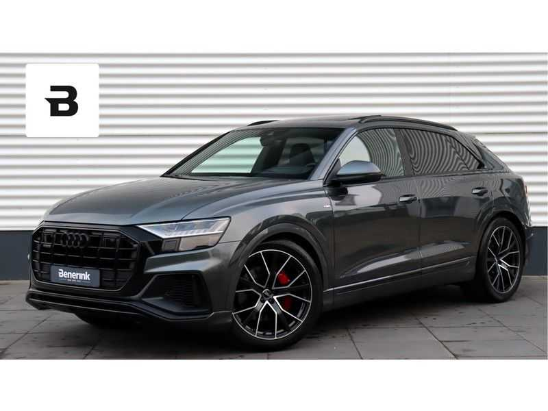 Audi Q8 50TDI Quattro S-Line B&O, Panoramadak, Massage, Soft Close, Head-Up Display