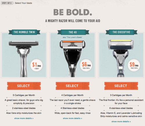 Dollar shave club ii