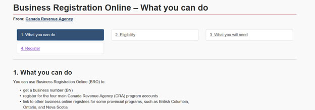 Business Registration Online after.