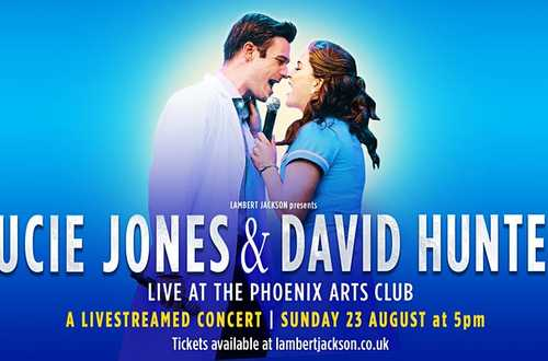 LUCIE JONES & DAVID HUNTER - Live at the Phoenix Arts Club
