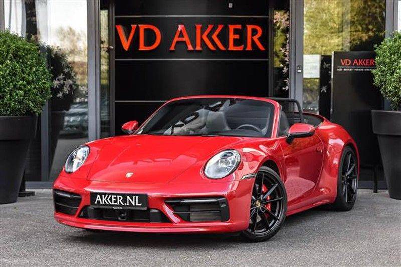 Porsche 911 4S CABRIO 4WSTURING+ST.KOELING+SP.CHRONO NP.218K afbeelding 1