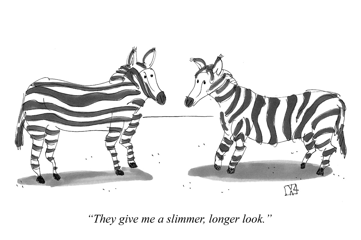They give me a slimmer, longer look.