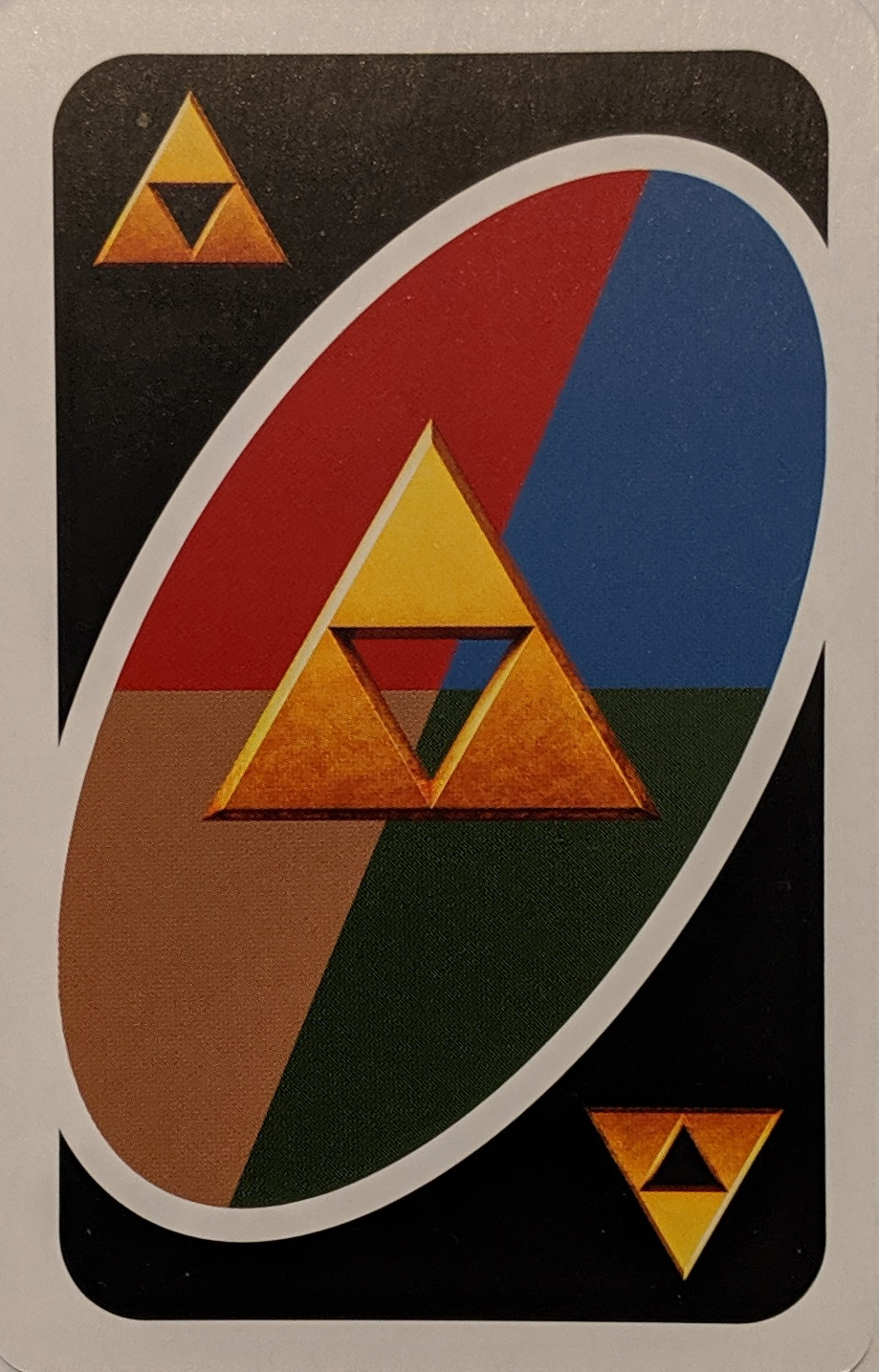 Legend of Zelda Uno (Triforce Card)