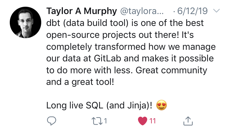 Taylor A Murphy, Data Engineer at GitLab
