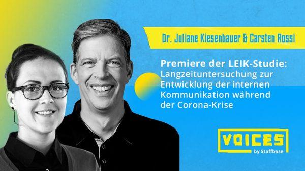 Dr. J. Kiesenbauer & Carsten Rossi: Langzeituntersuchung zur Entwicklung der IK in der Corona-Krise