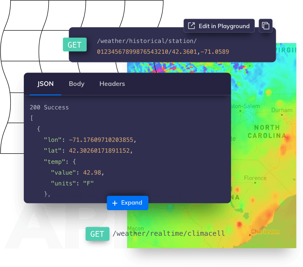 Tomorrow.io API