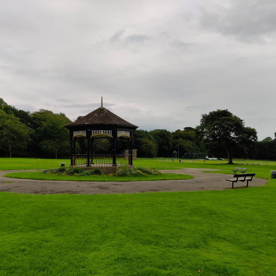Horsforth Hall Park band stand