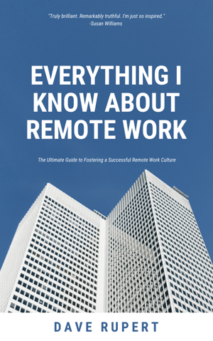 Book Cover Everything I Know About Remote Work