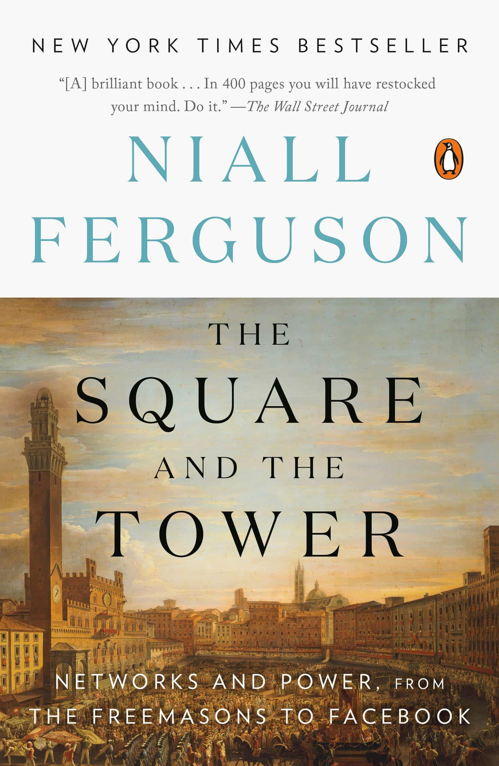 The cover of The Square and the Tower
