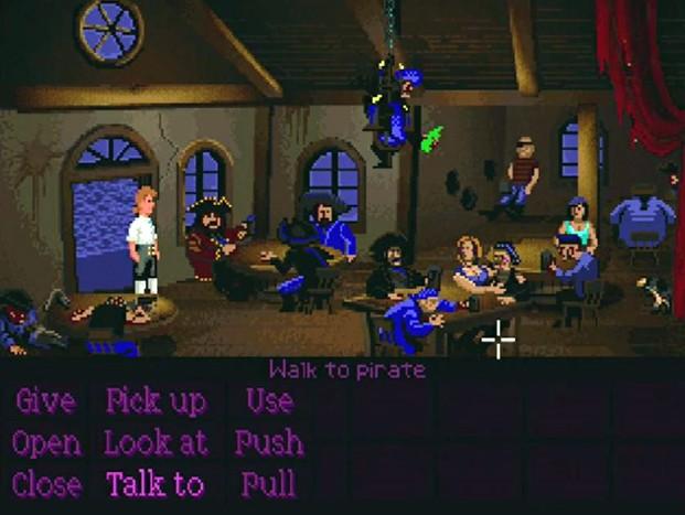 Monkey Island Screenshot