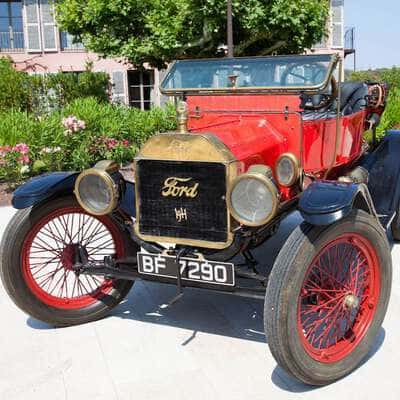 Ford Model T Convertible 1911 9