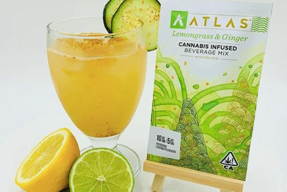 Atlas Lemongrass & Ginger Beverage Mix