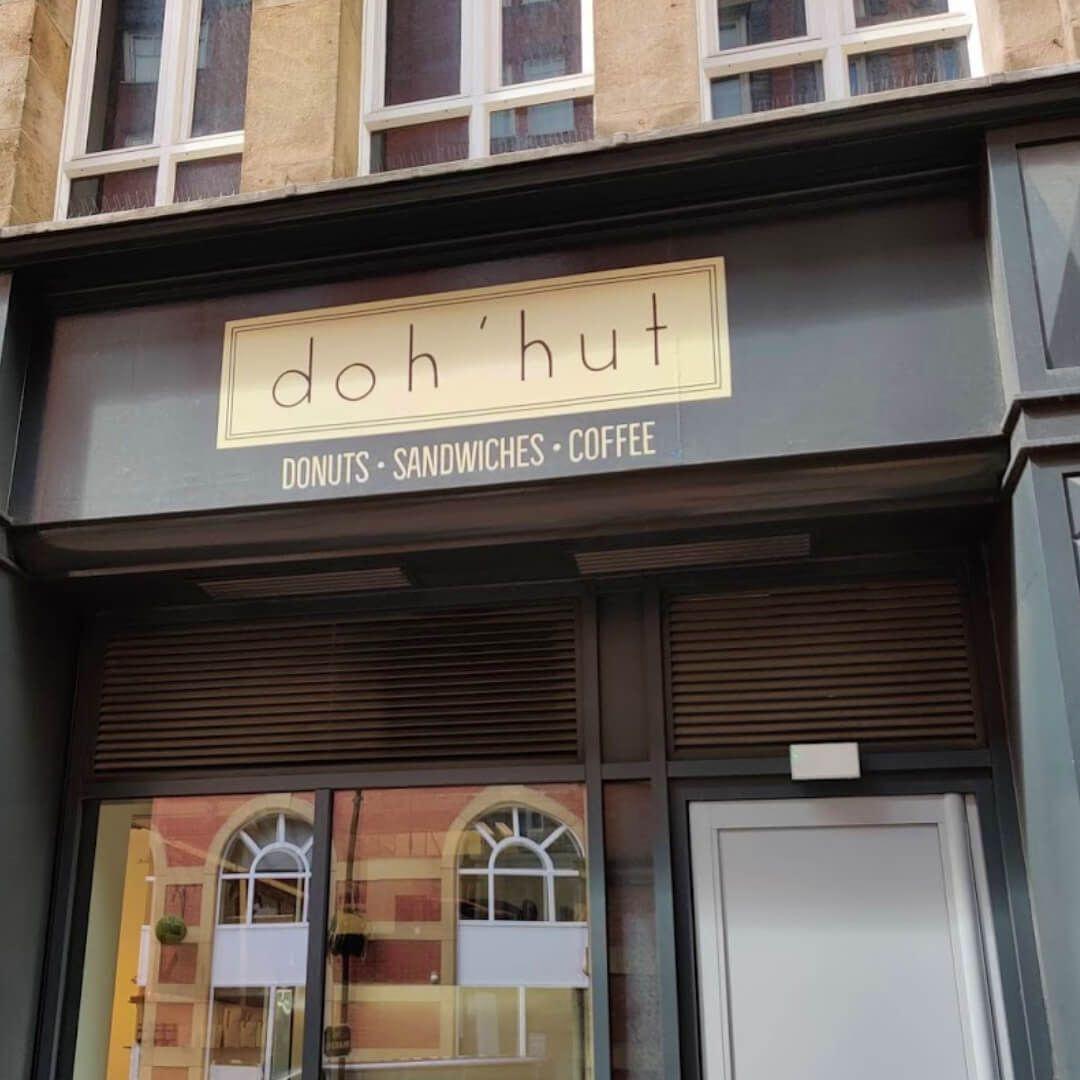 The front of Doh'hut in Leeds