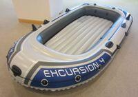 INTEX Excursion 4 Schlauchboot (nur Boot)