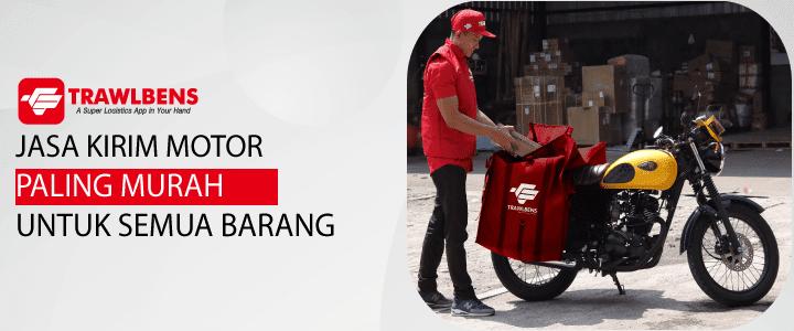 Jasa Pengiriman Motor dengan Harga Termurah di Indonesia