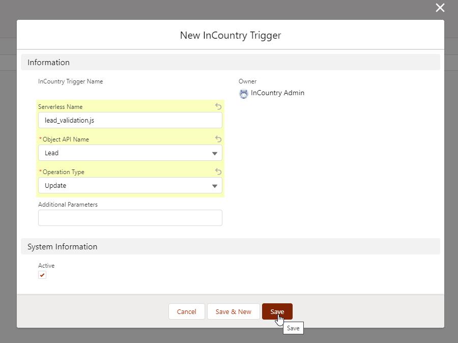 Adding new serverless functions